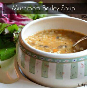 mushroom barley soup 360x361 - Mushroom Barley Soup