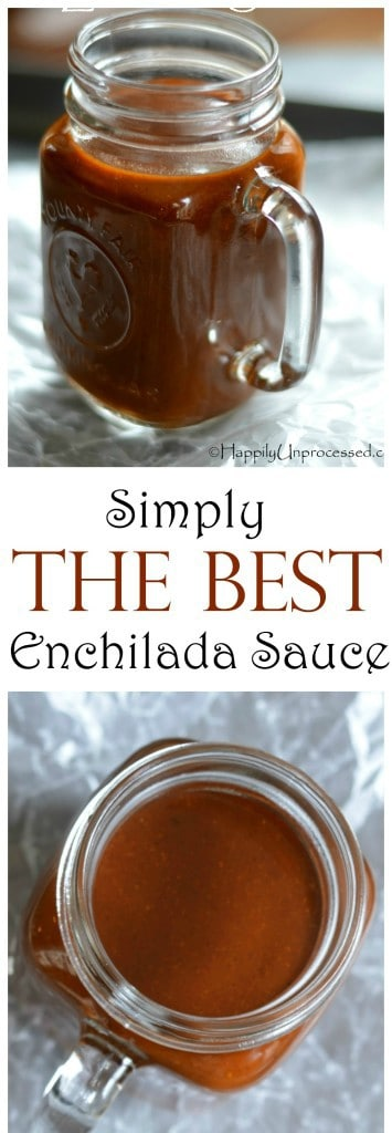 simply the best enchilada sauce collage2 355x1024 - Simply THE BEST Red Enchilada Sauce EVER!