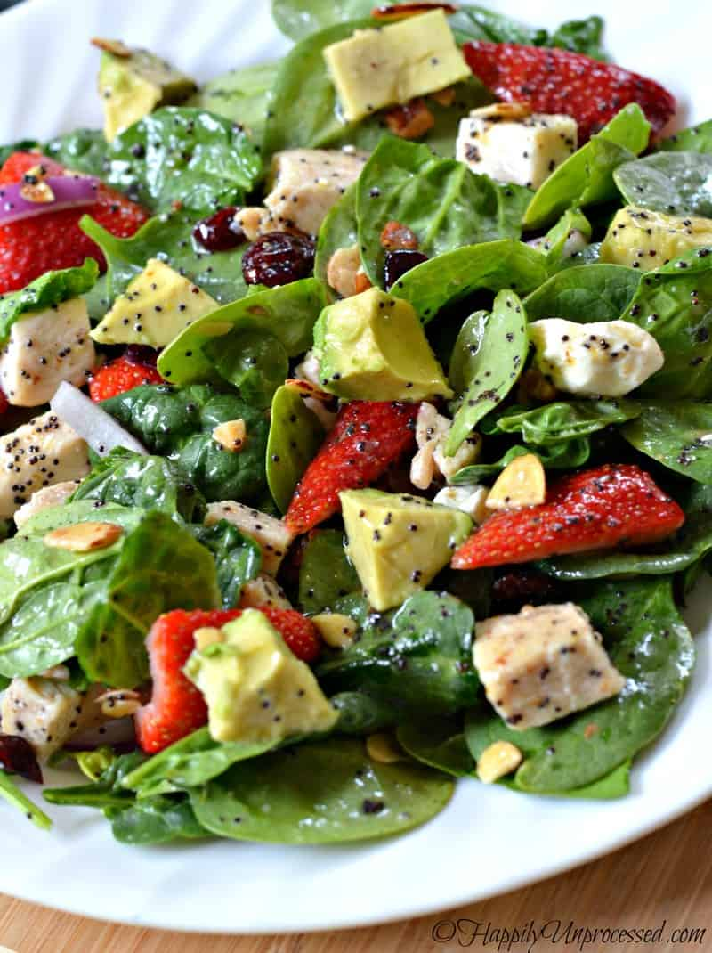 Watch Citrus, Turkey, and Spinach Salad video