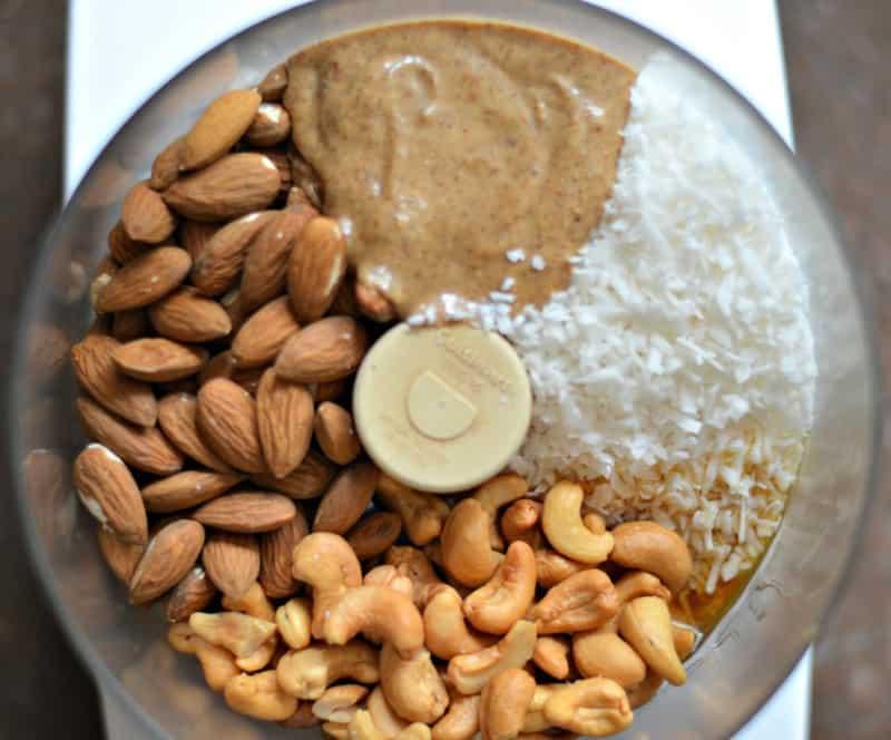 cashew almond bars