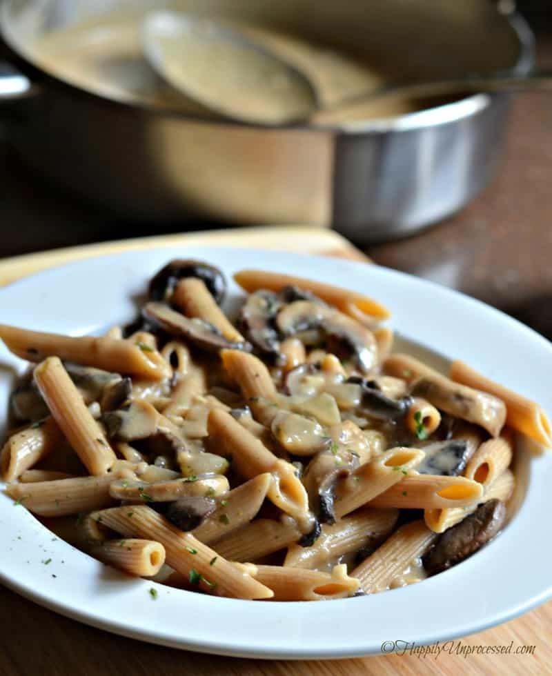 mushroom-stroganoff-meatless