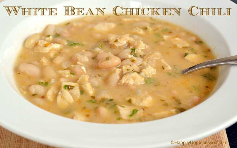 White Bean Chicken Chili Recipe — Dishmaps