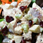 Chicken Salad with Greek Yogurt, Apples and Pecans