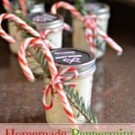 Homemade Peppermint Body Scrub (with free printable)