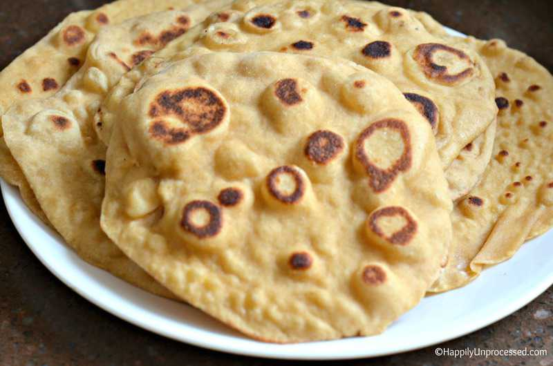 Easy homemade naan bread that you can make happily unprocessed forumfinder Choice Image