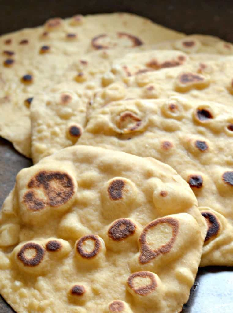 naan bread1 762x1024 - Easy Homemade Naan Bread (That YOU can make!)