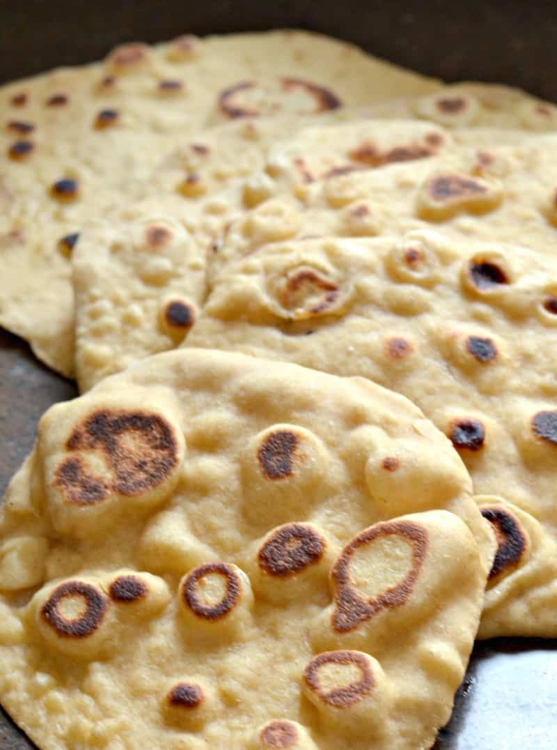 Easy Homemade Naan Bread That You Can Make Happily Unprocessed