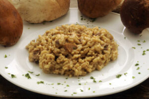 Mushroom Risotto (even a Novice can make!)