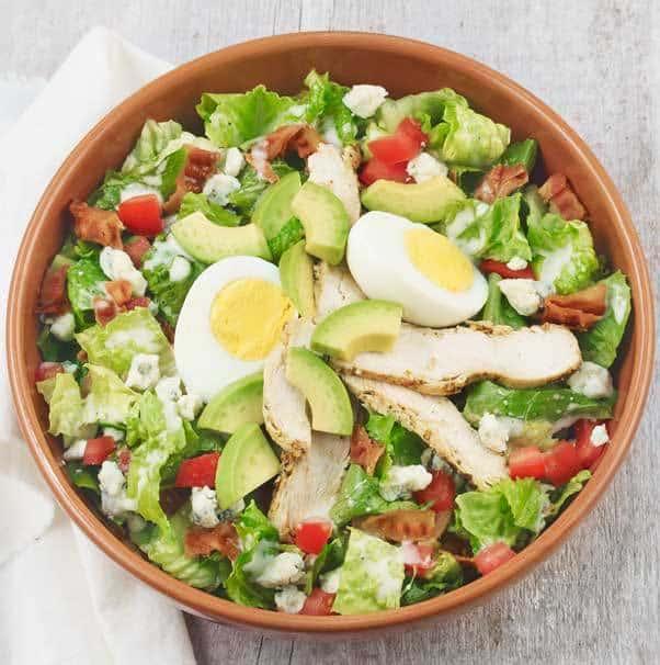 chicken cobb salad panera - 10 Salads That Have More Fat and Calories Than a Big Mac!