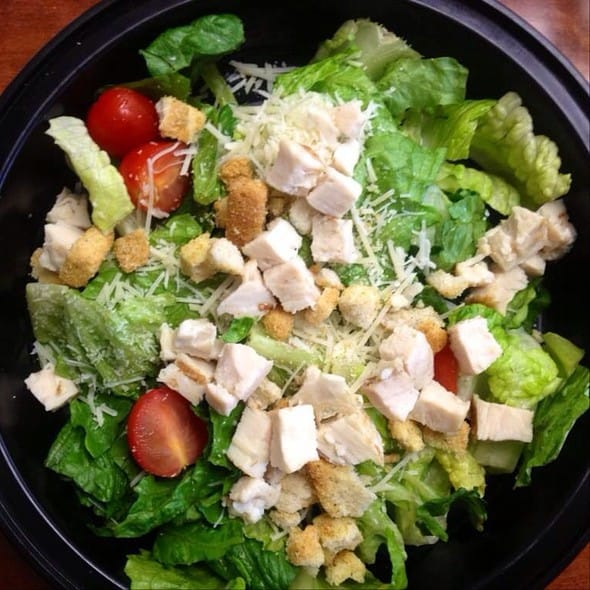 costco chicken caesar salad - 10 Salads That Have More Fat and Calories Than a Big Mac!