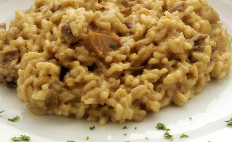 mushroom risotto1 1024x627 - Mushroom Risotto (even a Novice can make!)