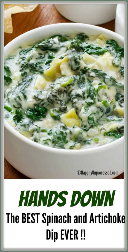 My friend makes this Spinach Artichoke dip quite often when we go over ...