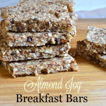 no bake almond joy breakfast bars 360x361 - No Bake Almond Joy Breakfast Bars