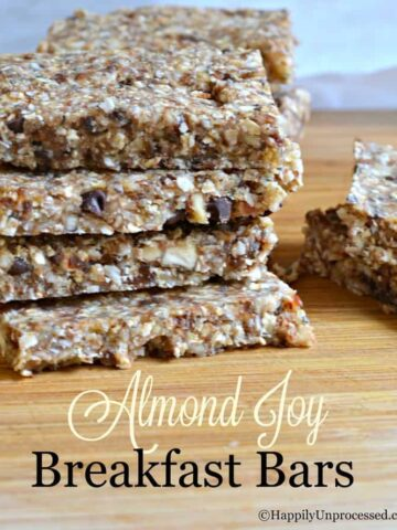 no bake almond joy breakfast bars 360x480 - No Bake Almond Joy Breakfast Bars