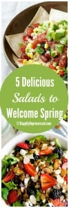 5 Delicious Plant Based Salads To Welcome Spring