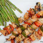 Grilled Mediterranean Chicken Kebobs
