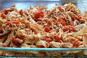 Shredded Mexican Chicken