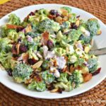 broccoli cranberry salad 150x150 - Chicken Salad with Greek Yogurt, Apples and Pecans
