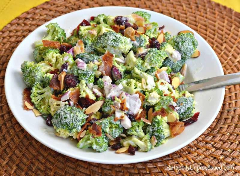 broccoli craisin bacon salad