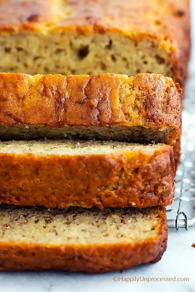 bananapic - Banana Bread (Gluten, Dairy, Sugar Free)