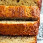 banana bread sliced gluten free dairy free sugar free