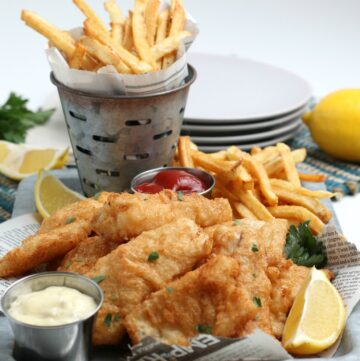 Beer Battered Fish 'n Chip recipe