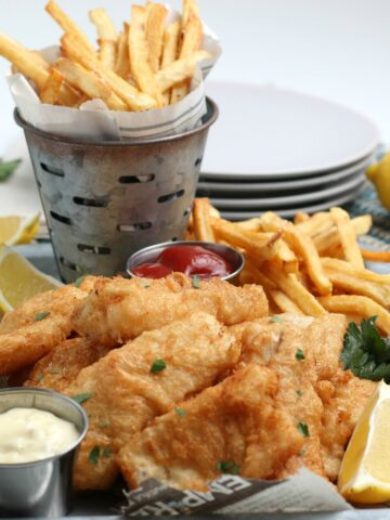 Beer Battered Fish 'n Chip recipe
