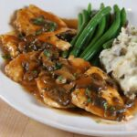 chicken marsala mashed potatoes 150x150 - Sauteed Garlic & Balsamic Bella Mushrooms