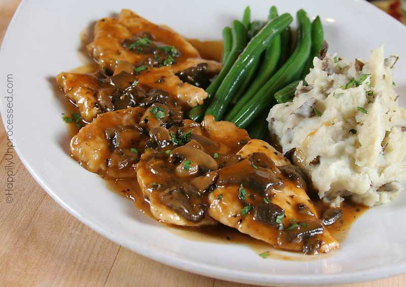 Chicken Marsala - Happily Unprocessed