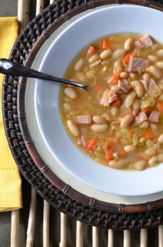 DSC 0336 1 678x1024 - White Bean and Ham Soup