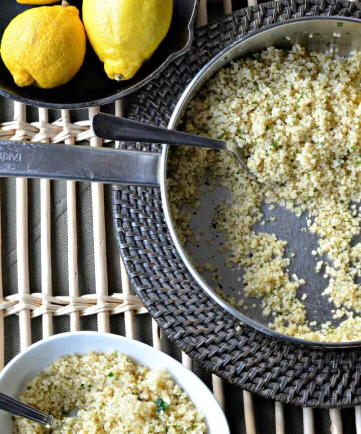 lemon quinoa2pic 720x865 - Lemon Quinoa