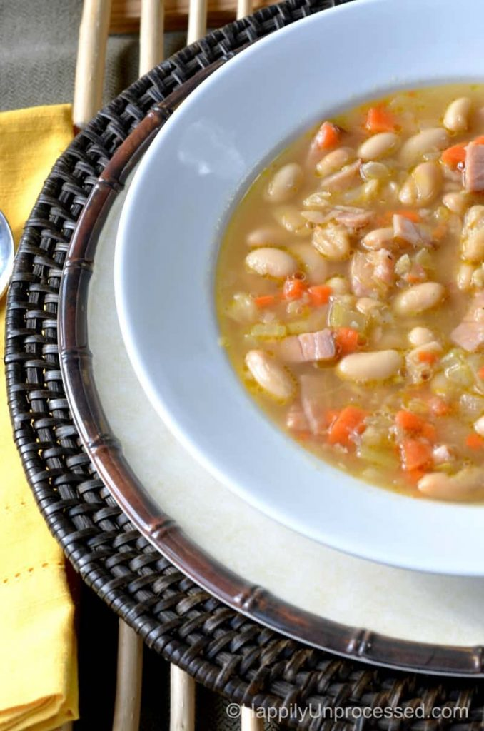 white bean ham soup2pic 678x1024 - White Bean and Ham Soup