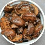Sauteed Garlic & Balsamic Bella Mushrooms