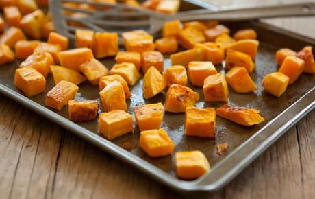 butternut squash roasting - Roasted Butternut Squash & Quinoa Salad