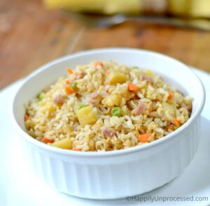Hawaiian Pineapple Fried Rice
