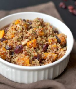 Roasted Butternut Squash & Quinoa Salad
