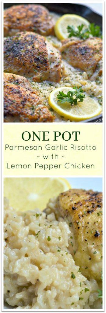 GARLIC RISOTTO FRAME.JPG 348x1024 - One Pot Lemon Pepper Chicken with Garlic Parmesan Risotto