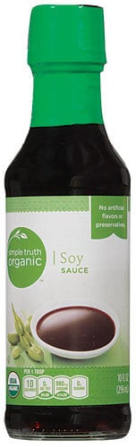 Simple Truth Organic Soy Sauce 011110818201 - Sensational Sesame Chicken (30 Minutes~1 Skillet)