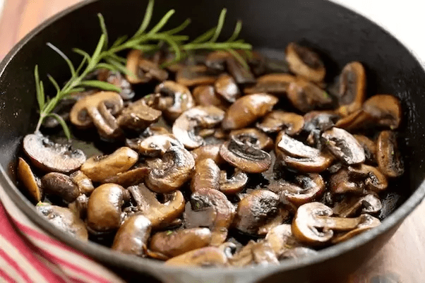 mushrooms - Savory Mushroom & Barley Soup