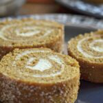 Simple Classic Pumpkin Roll with Cream Cheese Filling