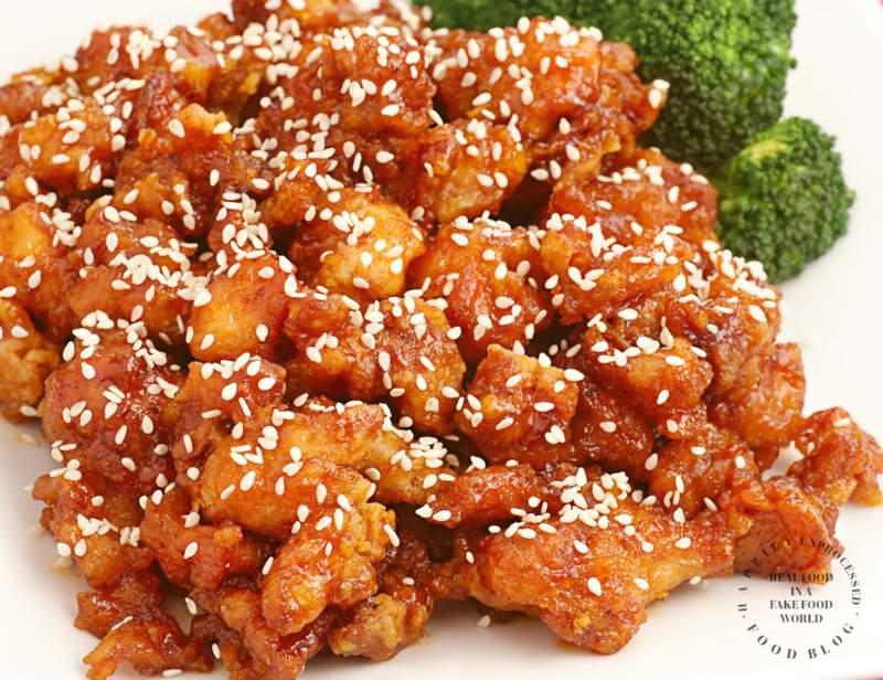 Sensational Sesame Chicken 30 Minutes 1 Skillet Happily Unprocessed