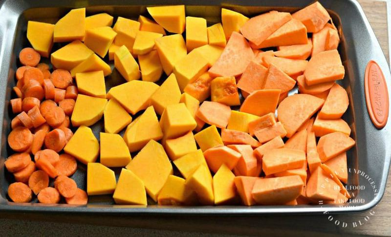 Roasted Butternut Squash Soup2 logo - Roasted Butternut Squash, Sweet Potato and Carrot Soup