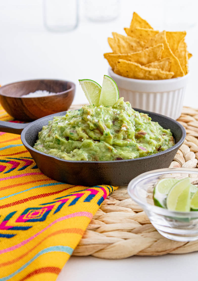 Learn how to make guacamole at home with avocados, cilantro, red onion and fresh lime juice