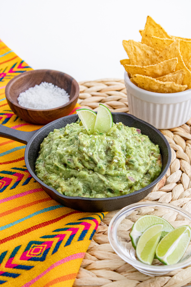 Learn how to make guacamole at home using ripe avocados - Wholly Guacamole (5 ingredients - 5 minutes)