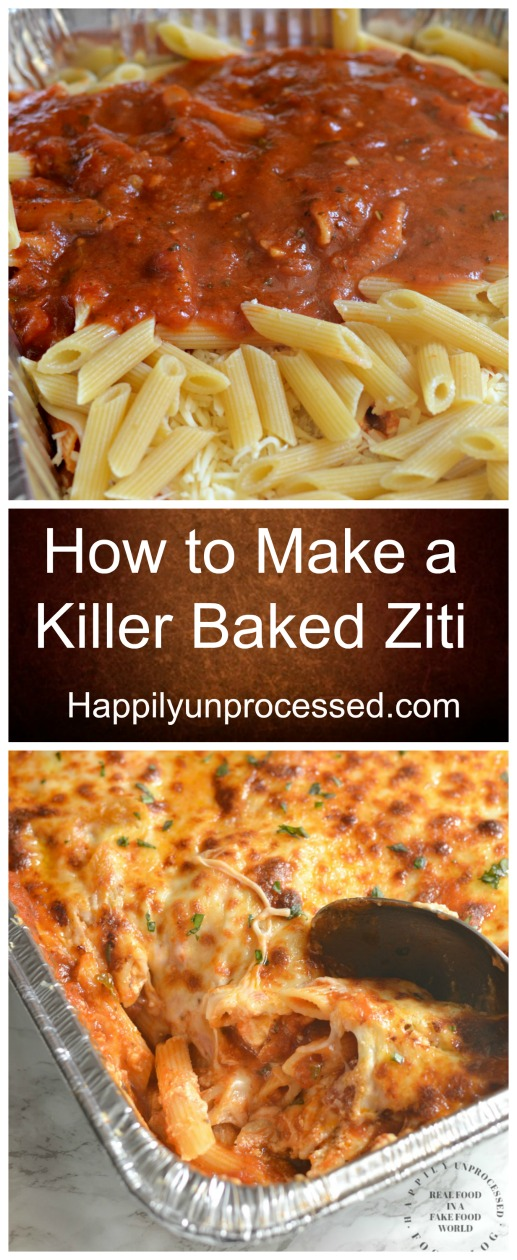 How to make a killer baked ziti pin.jpg - How to Make a Killer Baked Ziti