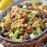 chickpea mediterannean feta salad 150x150 - Mediterranean Chickpea & Feta Salad
