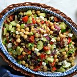 mediterranean chickpea salad featured.jpg 150x150 - Vibrant Summer Four Bean Salad