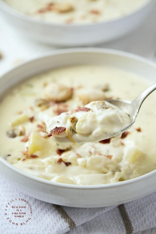 New England Clam Chowder 2 - Five Star New England Clam Chowder