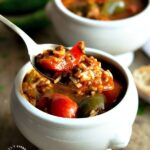 stuffed pepper soup 2 150x150 - Nourishing Turkey Bone Broth (in slowcooker)