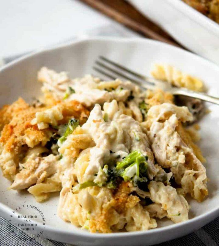 turkey tetrazzini 720x809 - Turkey Tetrazzini with Egg Noodles & Broccoli